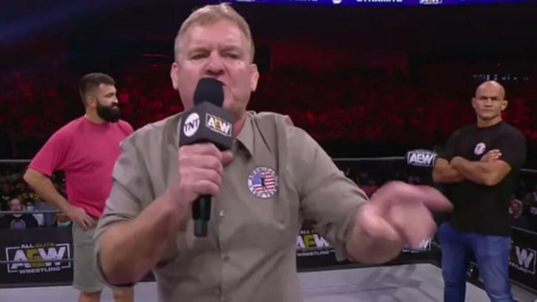 Dan Lambert brought two former UFC Champions to AEW Dynamite