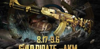 How get the Gold Pirate AKM in BGMI Lucky Spin?