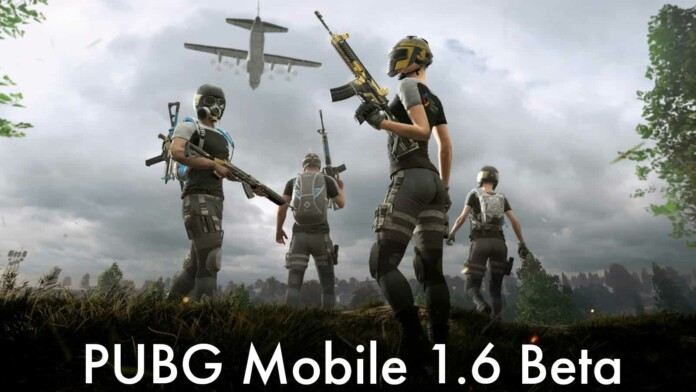 Download PUBG Mobile 1.6 Beta APK for Android and iOS Devices