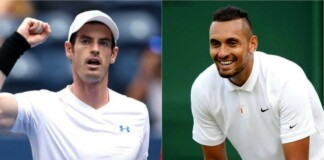 Andy Murray and Nick Kyrgios