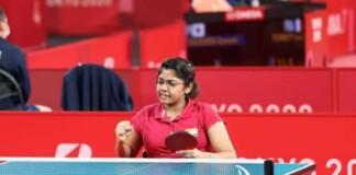 Bhavina Patel at Tokyo Paralympic Games