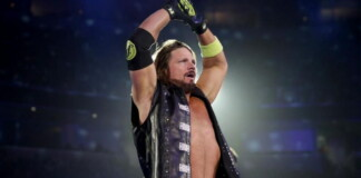 AJ Extreme Rules record is 2-1