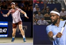 Andy Murray and Frances Tiafoe
