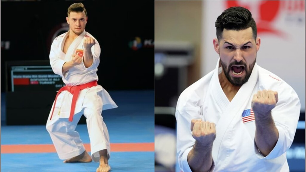Ariel Torres and Ali Sofuoglu Tokyo Olympics Male Kata