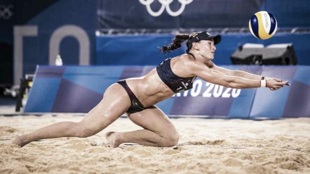 Beach volleyball uniform 2