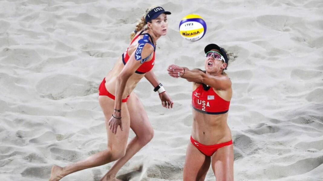 Beach volleyball uniform 3
