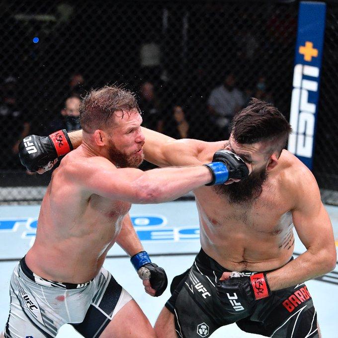 Bryan Barberena vs Jason Witt at UFC Vegas 33