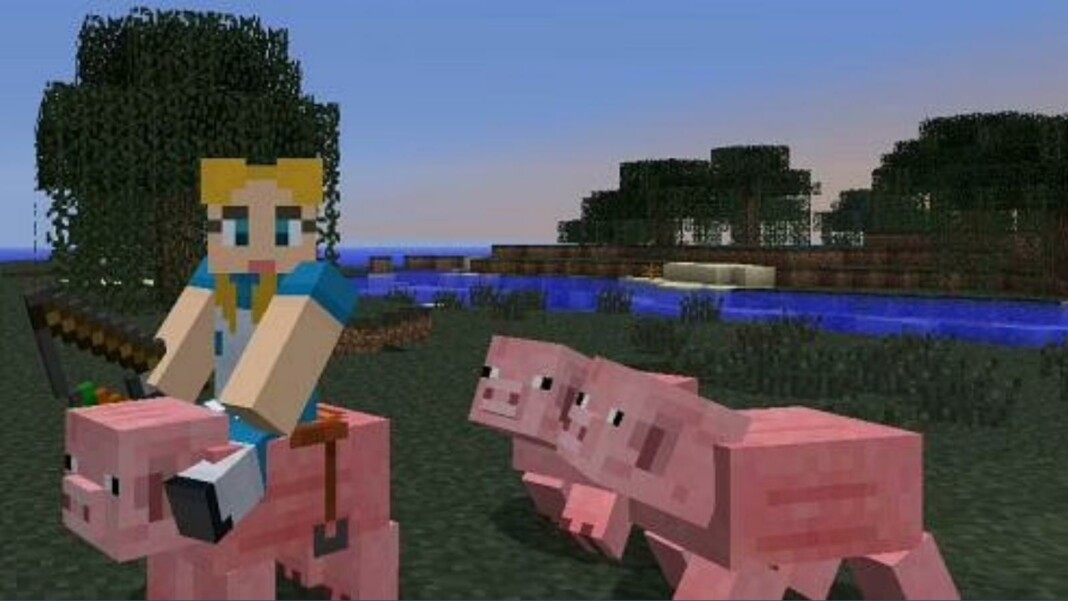 Carrot on a Stick in Minecraft