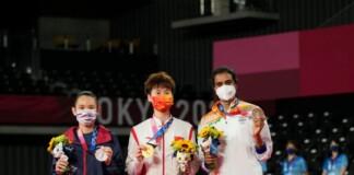 Chen Yufei, Tai Tzu-Ying and PV Sindhu