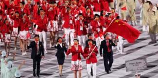 China at the Tokyo Olympics