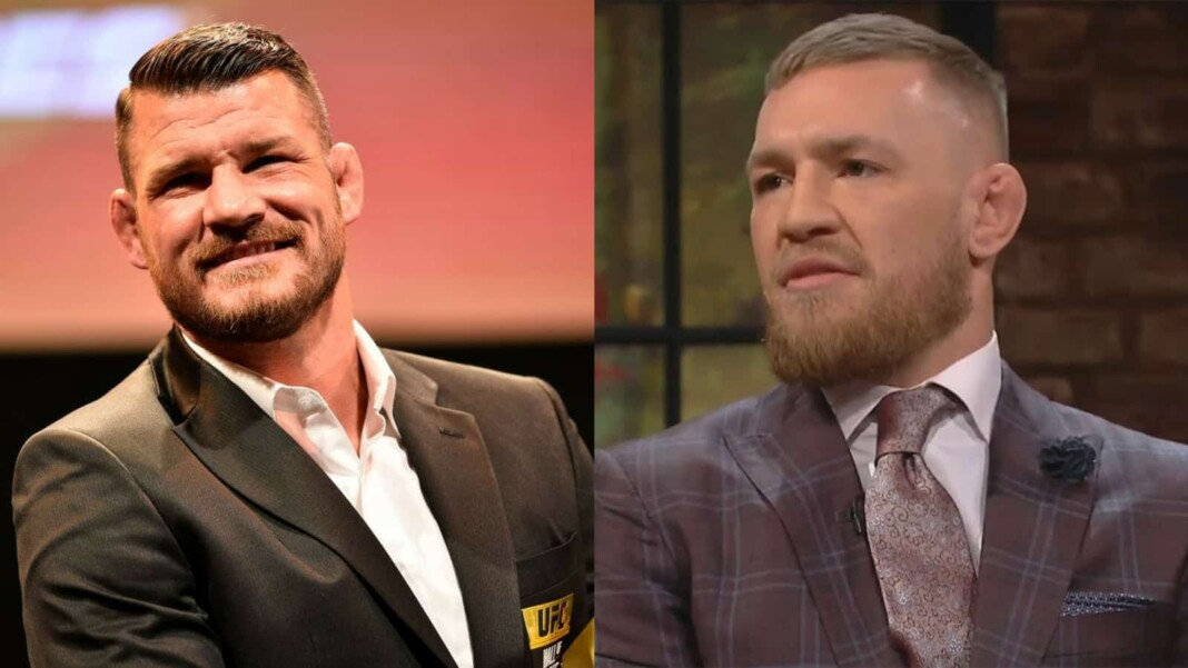 Conor McGregor and Michael Bisping'