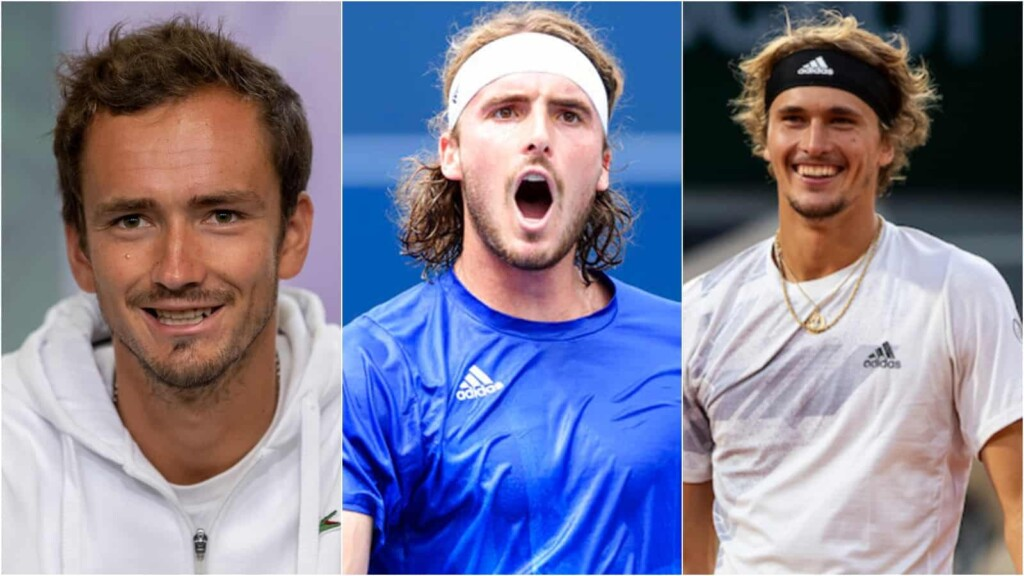 Daniil Medvedev, Stefanos Tsitsipas, Alexander Zverev will be part of the Team Europe at the 2021 Laver Cup