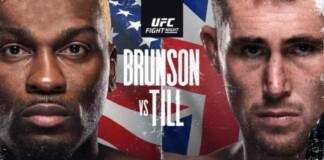 Derek Brunson vs Darren Till Prediction