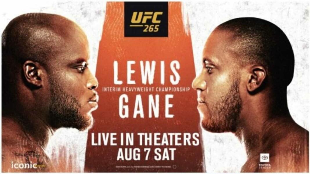 Derrick Lewis vs Ciryl Gane Prediction