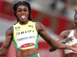 Elaine Thompson-Herah in women's 200m Tokyo Olympics