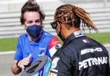 Fernando Alonso on Lewis Hamilton