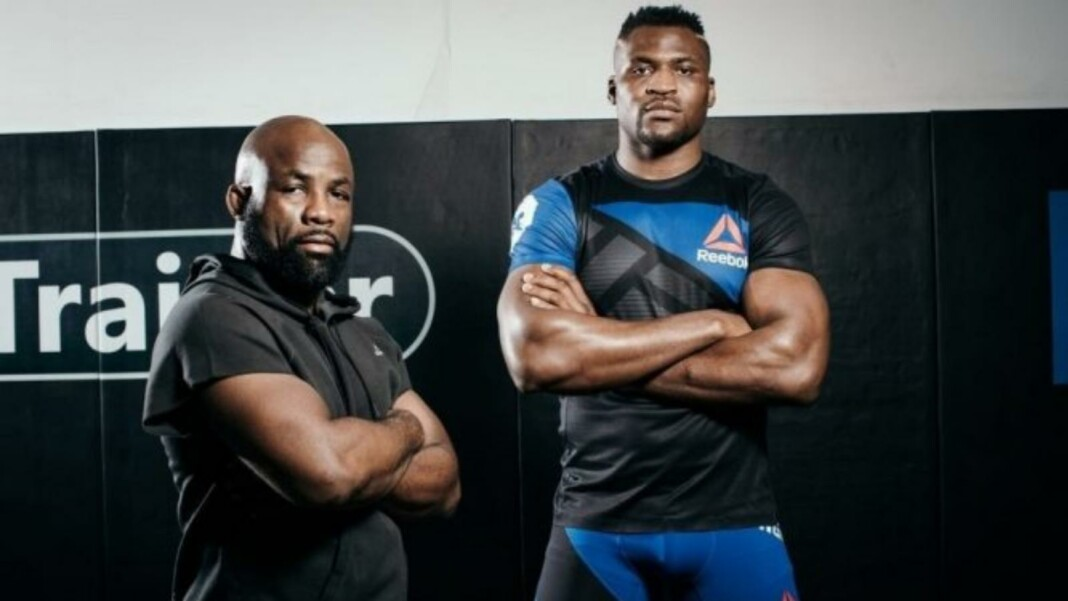 Francis Ngannou and Fernand Lopez