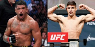 Gilbert Burns and Vicente Luque