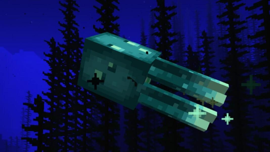 Glow Ink Sac in Minecraft