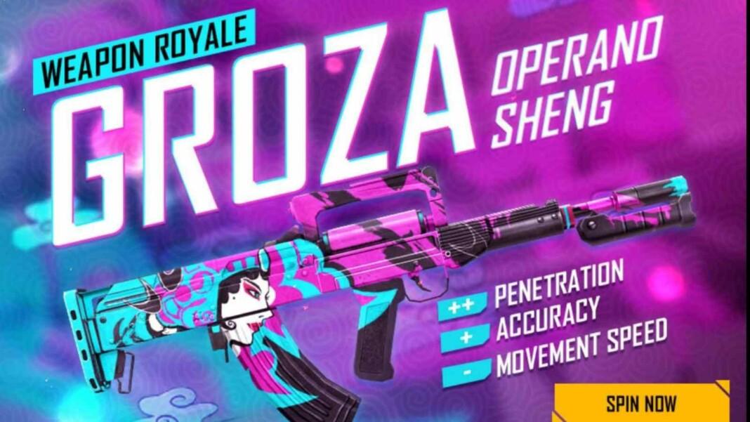 Groza Operang Sheng in Free Fire