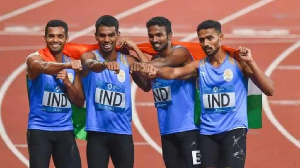 India men's 4x400m relay team