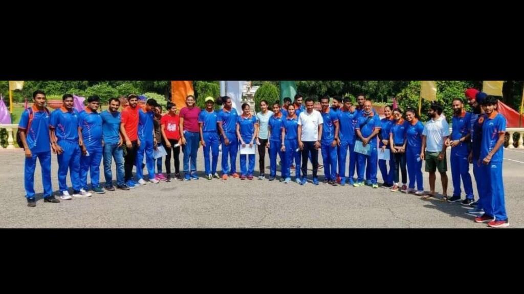 Indian contingent for U20 Athletics World Championship