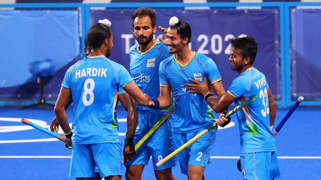Tokyo Olympics Indian men's hockey team