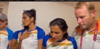 Indian women's hockey players break down