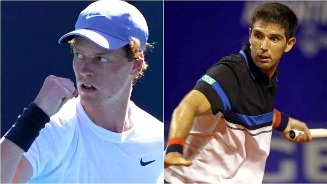 Jannik Sinner vs Federico Delbonis will be clashing at the Cincinnati Masters