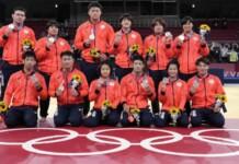 Japanese Judo Team at Tokyo Olympics