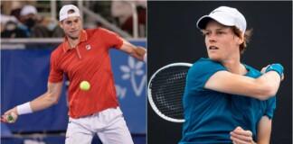 John Isner vs Jannik Sinner will clash at the Cincinnati Masters 2021