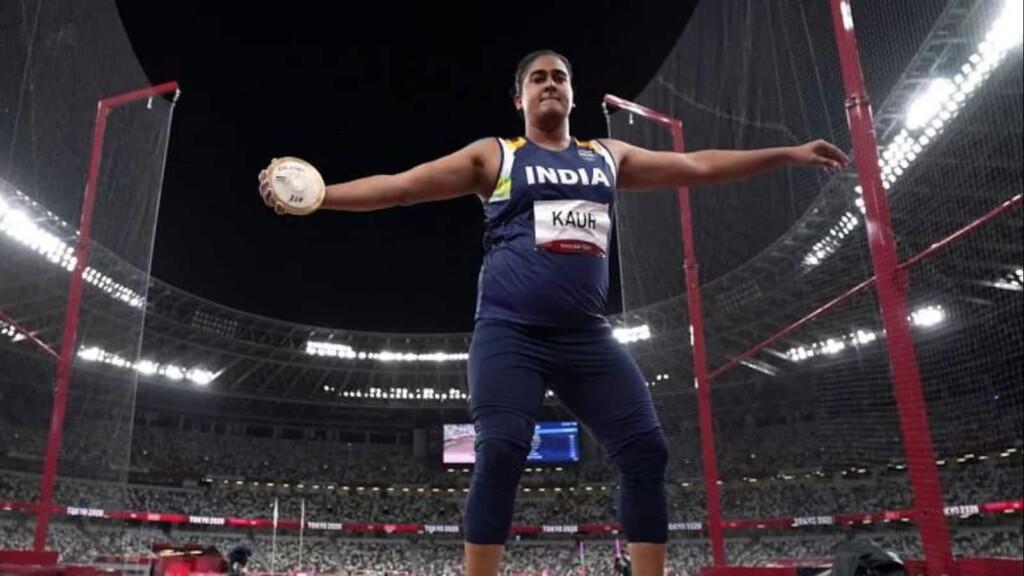Kamalpreet Kaur, women's discus throw