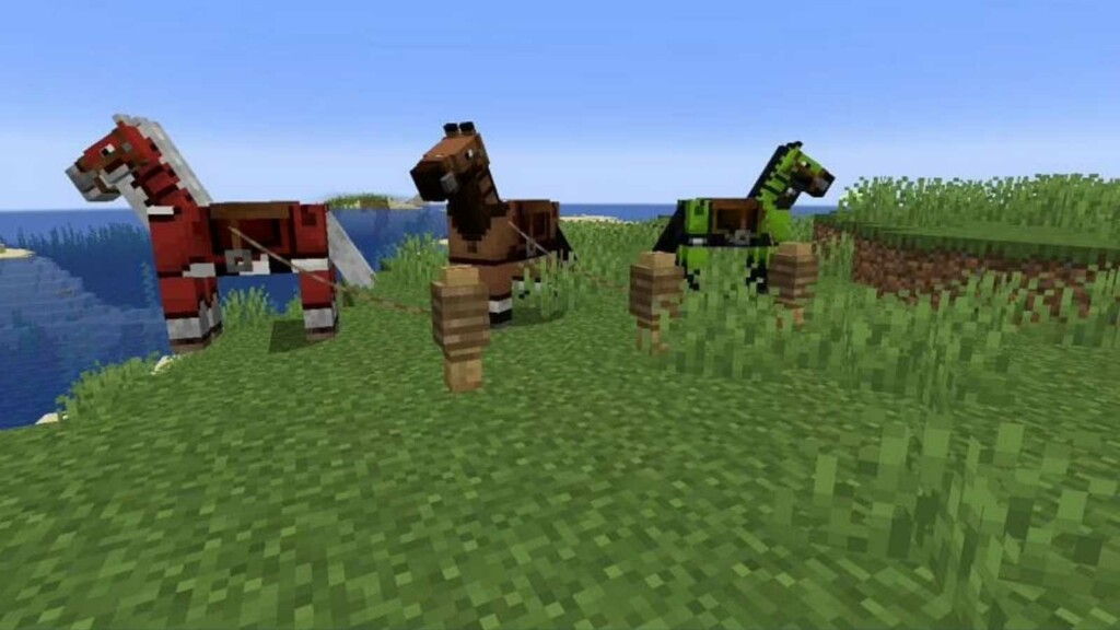Leather Horse Armor in Minecraft