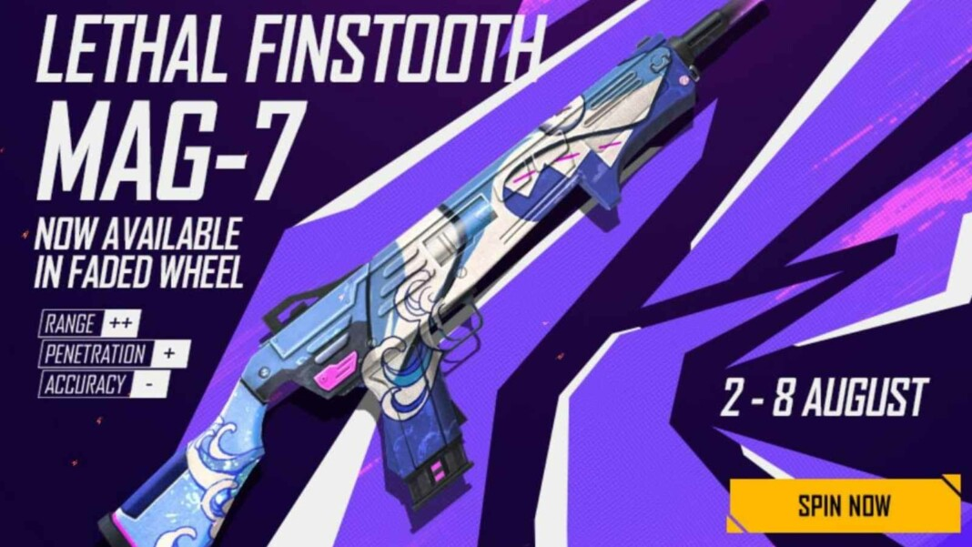 Lethal Finstooth MAG-7 in Free Fire