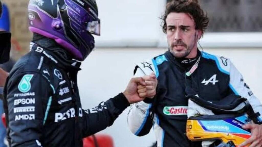 Lewis Hamilton and Fernando Alonso