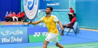 India's Para Badminton player Manoj Sarkar