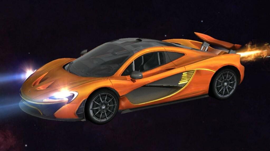 McLaren Racing Surfboard in Free Fire