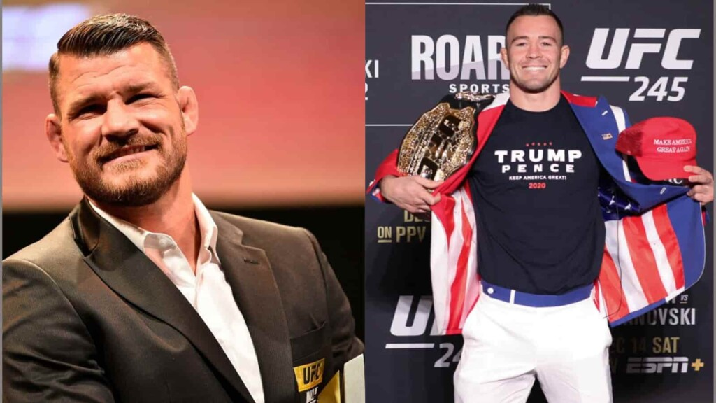 Michael Bisping and Colby Covington