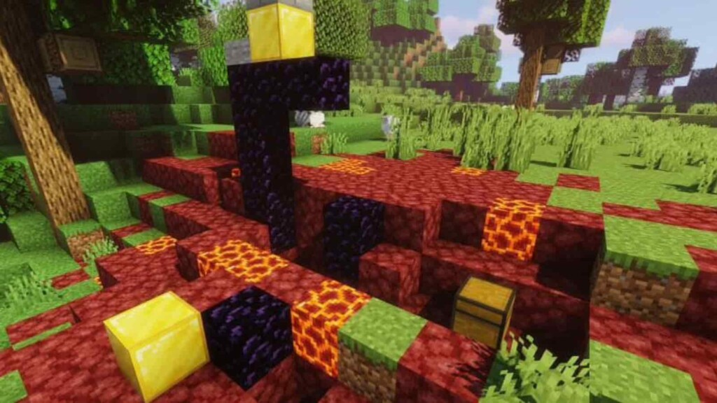 Minecraft Ruined Portal
