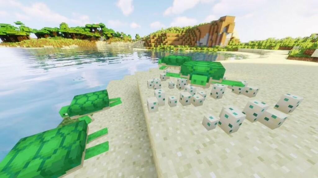 Minecraft Turtle Shell