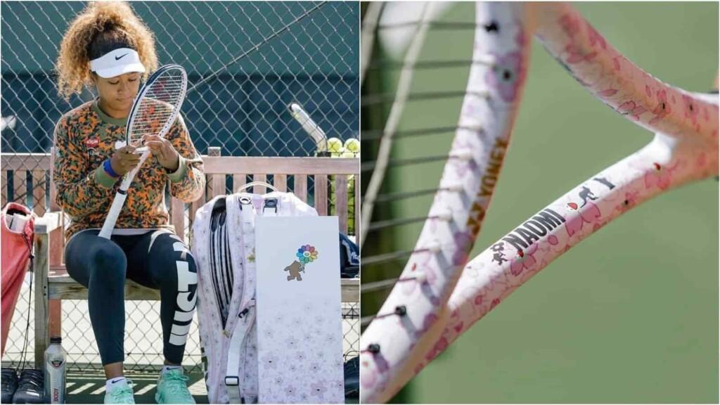 Naomi Osaka new racquet