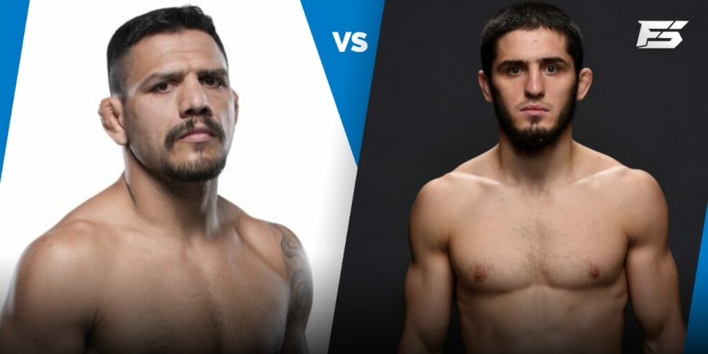Islam Makhachev vs Rafael Dos Anjos booked for UFC 267