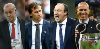 Real Madrid players who became successful managers