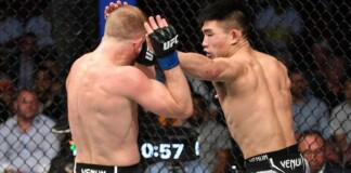 Song Yadong wins at UFC 265
