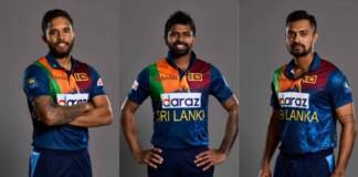 Sri Lanka cricketers Kusal Mendis, Niroshan Dickwella and Danushka Gunathilake