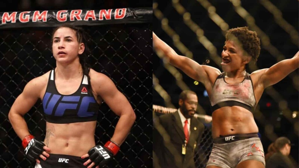 Tecia Torres and Angela Hill