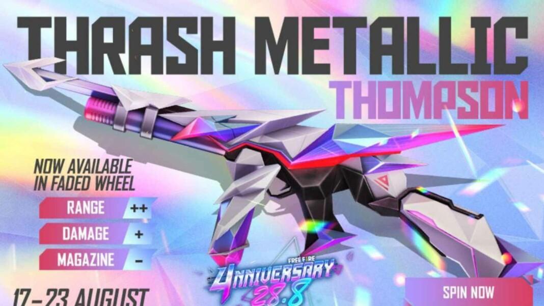 Thrash Metallic Thompson in Free Fire