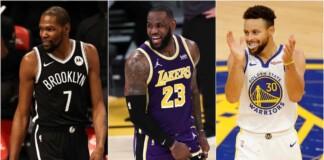 Top 5 NBA Trios