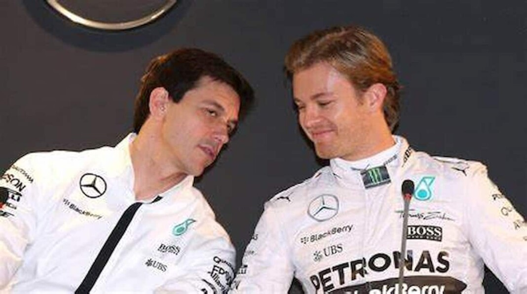 Toto Wolff and Nico Rosberg