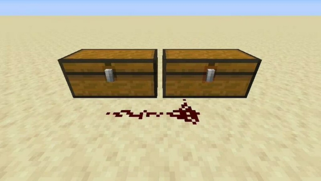 Trapped Chest in Minecraft